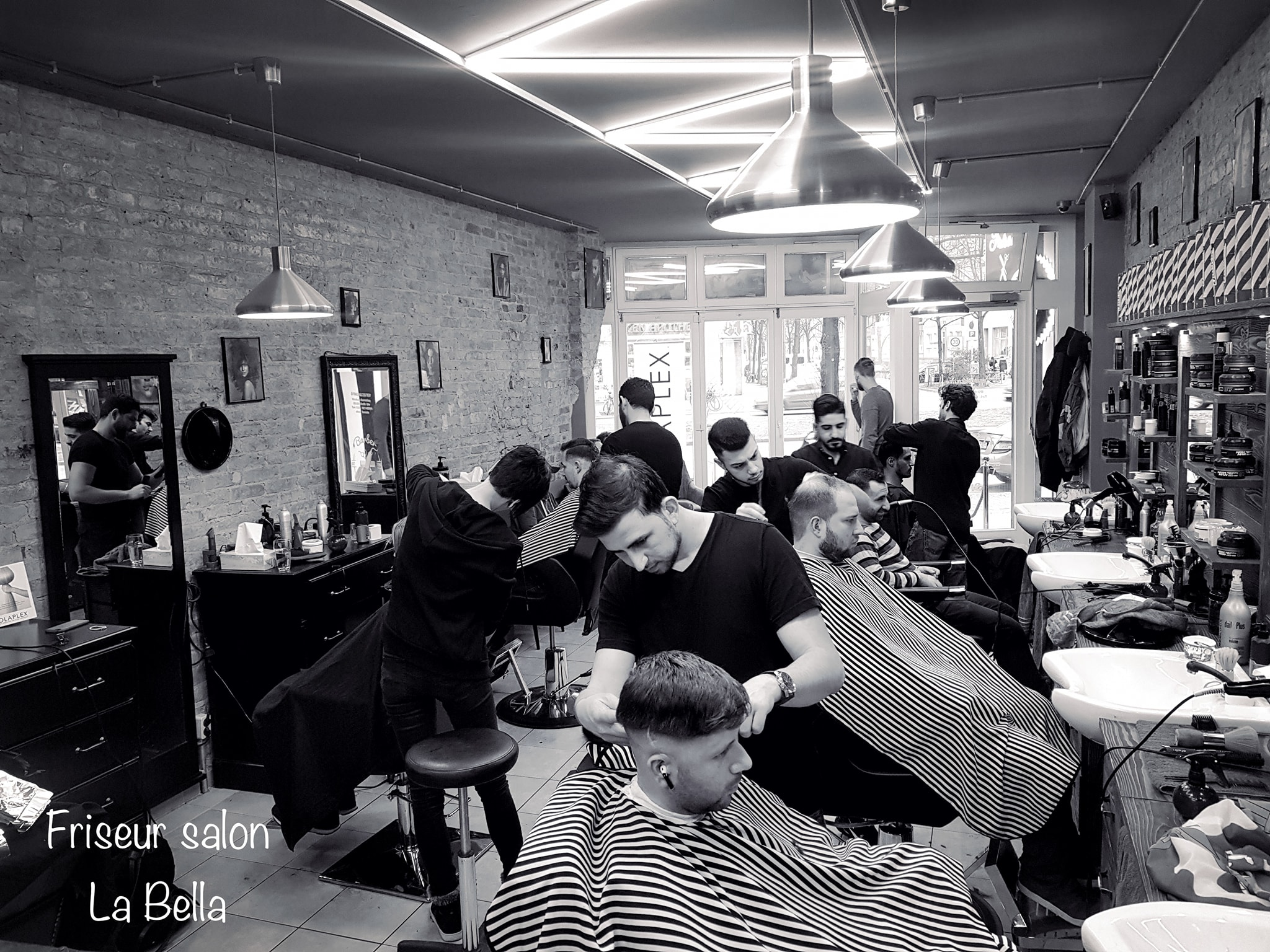 Friseur & Barbershop La Bella in Berlin | by A.P. Donovan